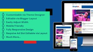 SimpleUP: High Quality AdSense Friendly, SEO and Responsive Blogger Template